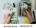 turkish money   turkish turk... | Shutterstock . vector #780334075