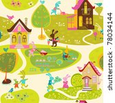 background a child | Shutterstock .eps vector #78034144