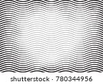 halftone engraving black and... | Shutterstock .eps vector #780344956