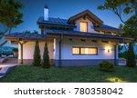 3d rendering of modern cozy... | Shutterstock . vector #780358042