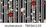 seamless floral pattern in... | Shutterstock .eps vector #780361135
