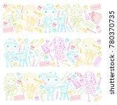 children creativity... | Shutterstock .eps vector #780370735