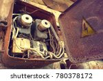 breaker and switch in control...   Shutterstock . vector #780378172