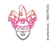 isolated mask design | Shutterstock .eps vector #780379132