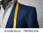 semi ready suit on mannequin...   Shutterstock . vector #780382336