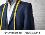 semi ready suit on mannequin... | Shutterstock . vector #780382345
