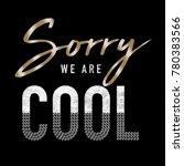 shiny slogan graphic | Shutterstock . vector #780383566