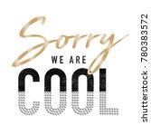 shiny slogan graphic | Shutterstock . vector #780383572