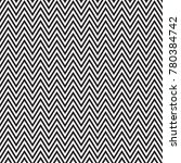 zigzag seamless abstract... | Shutterstock .eps vector #780384742