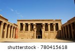egyptian temple image | Shutterstock . vector #780415618