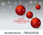 christmas light vector... | Shutterstock .eps vector #780420538