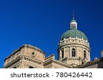 Small photo of Indiana Statehouse Capitol Building on a Sunny Day
