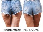 comparison of female legs... | Shutterstock . vector #780472096