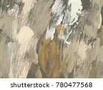 oil painting on canvas handmade.... | Shutterstock . vector #780477568