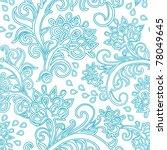 floral seamless pattern   Shutterstock . vector #78049645