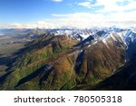 Wrangell-St.Elias NP,photographed from the plane, Alaska, USA,