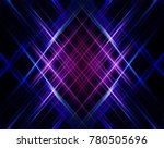 abstract violet background.... | Shutterstock . vector #780505696