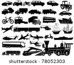 transportation | Shutterstock .eps vector #78052303