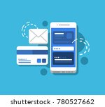 concept illustration of mobile... | Shutterstock .eps vector #780527662