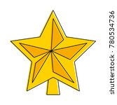 star decorative isolated icon | Shutterstock .eps vector #780534736