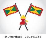 grenada emblem painter   Shutterstock .eps vector #780541156