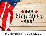 happy presidents day | Shutterstock . vector #780542212