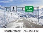 switzerland ski town kloster...   Shutterstock . vector #780558142