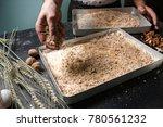 food pastry dessert recipe... | Shutterstock . vector #780561232