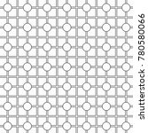 geometric lattice pattern... | Shutterstock .eps vector #780580066