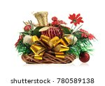 christmas table decoration... | Shutterstock . vector #780589138