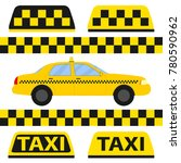 taxi  taxi icon  transport for... | Shutterstock .eps vector #780590962