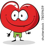 heart cartoon | Shutterstock .eps vector #78059659
