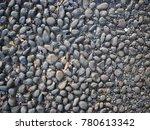 pebble wash texture material... | Shutterstock . vector #780613342