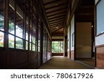 corridor of japanese... | Shutterstock . vector #780617926