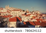 lisbon  portugal   dec. 18 ... | Shutterstock . vector #780624112