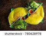 vietnamese savory fried pancake ... | Shutterstock . vector #780628978