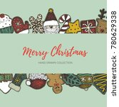 merry christmas holiday...   Shutterstock .eps vector #780629338