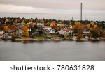 autumn in the suburbs of... | Shutterstock . vector #780631828