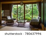 room at a japanese style hotel | Shutterstock . vector #780637996