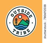 adventure badge logo  | Shutterstock .eps vector #780692038
