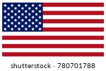 flag of the united states of... | Shutterstock . vector #780701788