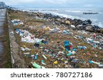 the problem of pollution and... | Shutterstock . vector #780727186