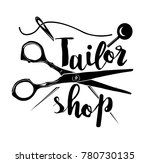 vintage tailor labels  emblems... | Shutterstock .eps vector #780730135