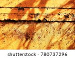metal paint texture and... | Shutterstock . vector #780737296