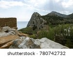 the ruins of the ancient... | Shutterstock . vector #780742732