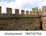 the ruins of the ancient... | Shutterstock . vector #780742756