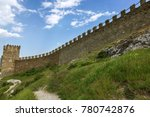 the ruins of the ancient... | Shutterstock . vector #780742876