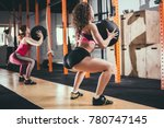 fitness  sport and exercising... | Shutterstock . vector #780747145