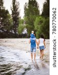 family holiday near the sea....   Shutterstock . vector #780770062