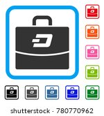 dash accounting case icon. flat ...   Shutterstock .eps vector #780770962
